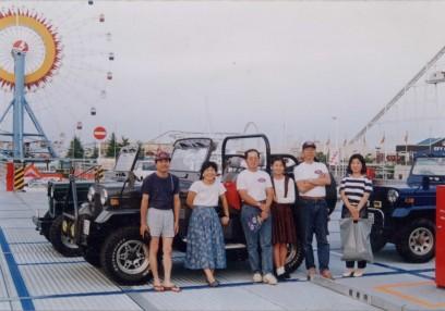 広島ナタリーの駐車場で