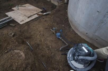 量水器のメーター位置を変更