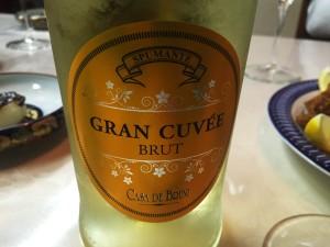 ワインは白で