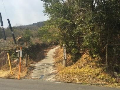 11:45 一度降り再びやん谷自然道を登る