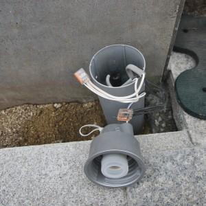 照明器具を結線