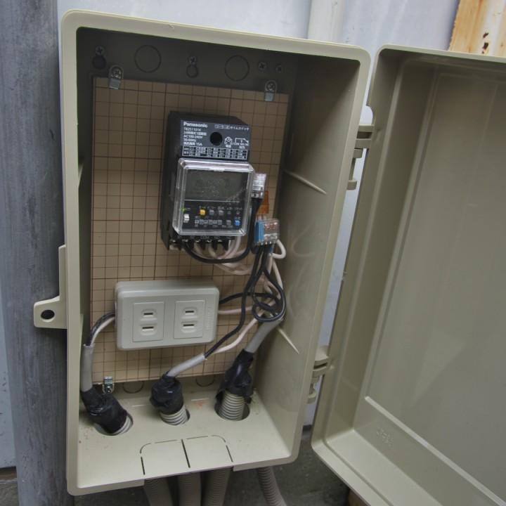 盤にタイマーをセット パナソニック タイムスイッチ ソーラータイムスイッチ TB251101K