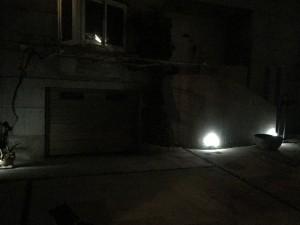 LED 0.9W だが明るい