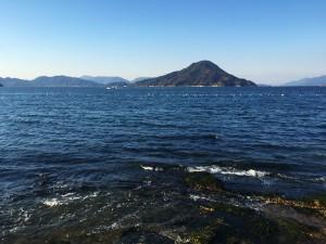 元宇品からの広島湾