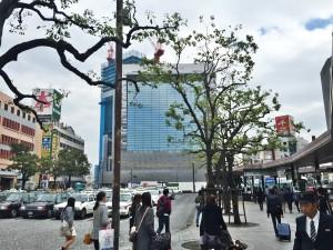 広島駅の周辺は再開発で変化が激しい