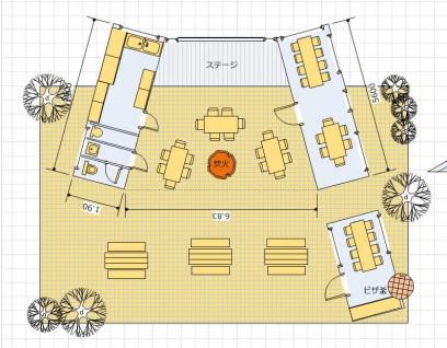 カフェのイメージ図