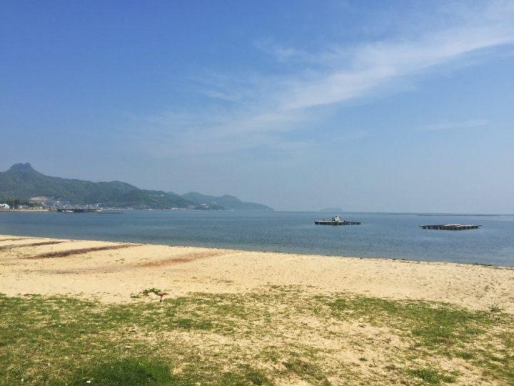 志度の海岸