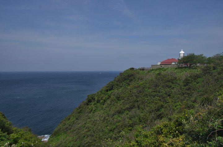美保関の地蔵崎 天気がよく日本海が綺麗