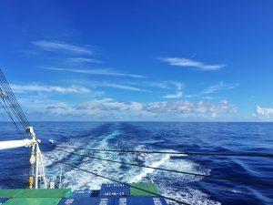 大海原を南下する