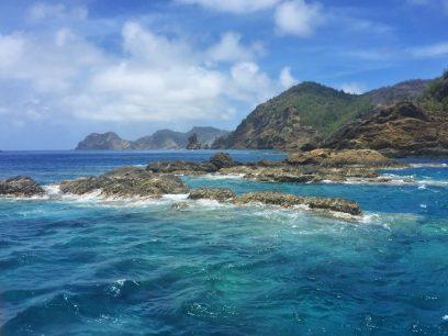 素晴らしい海を楽しみます