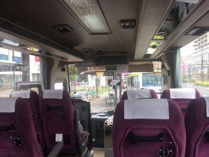 福山から今治にはバスで