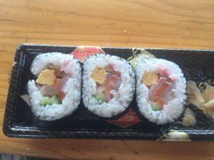 Take Don さんの巻き寿司 美味しい