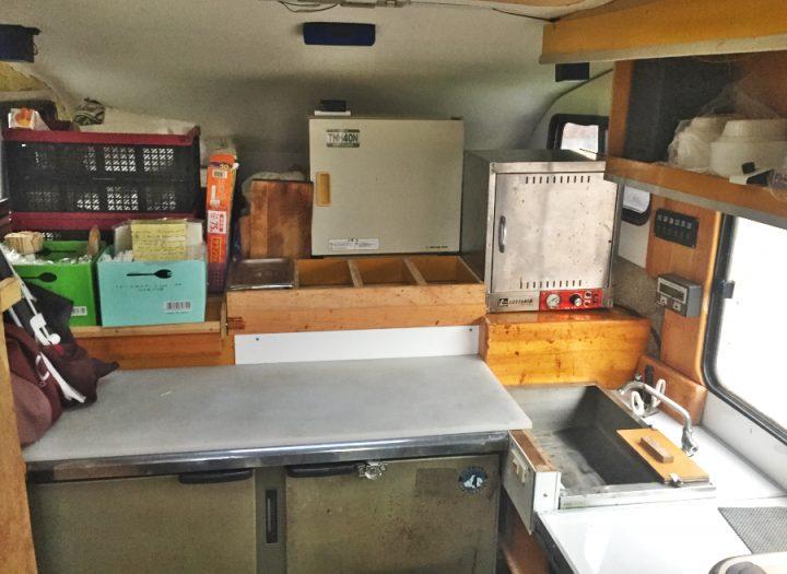 温蔵庫の位置を変更 棚を整理