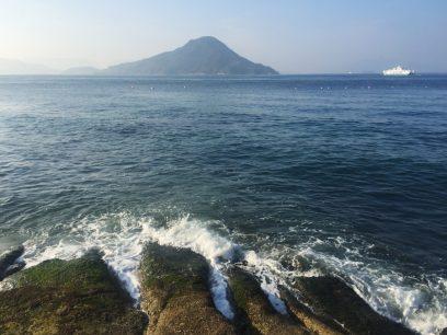 スッキリさわやかな広島湾