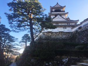 高知城 木造の天守閣が現存する12城の一つ