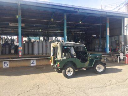 LPGを充填 段原のステーション土曜日も営業してサービスが良い