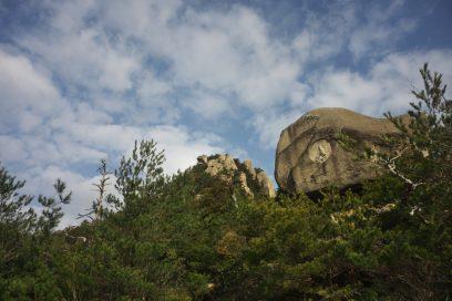 10:05 石船山までは観音様が掘ってあります