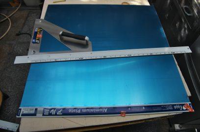 t=1.0mmのアルミ板を購入