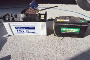 今までの巣部バッテリーはATLAS(韓国製)で5年ぐらい使用