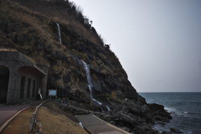 垂水の滝 能登半島での難所だった