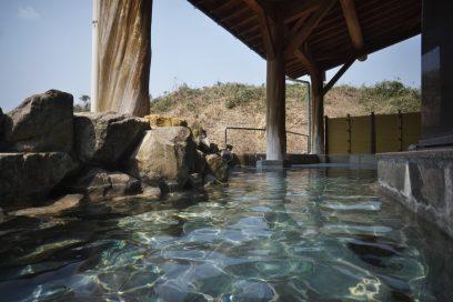 古墳の湯の露天風呂