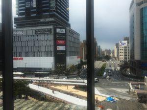 広島駅には少し早く着いた