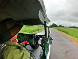 Jeepで北海道キャラバン 金山湖からフンプリムセ
