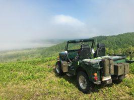 Jeepで北海道キャラバン 白糖から釧路湿原