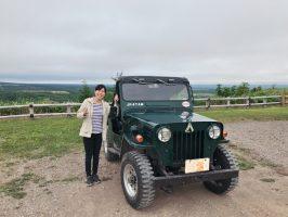 Jeep で北海道キャラバン 別海から野付半島、川北温泉、中標津